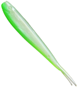Limited Edition - V-Tail, 12.5cm - Pearl green, UV Active