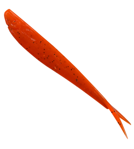 V-Tail, Orange  Glitter- UV Active