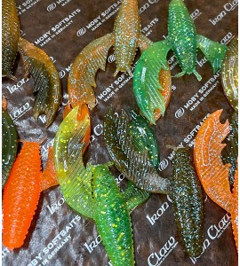 MOBY Craw Paddy - UV Active  - 10 pc.